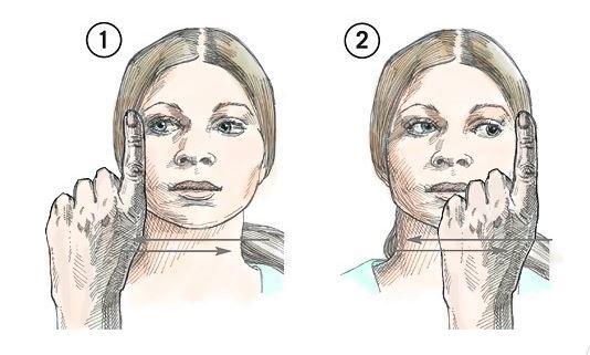 dessin mouvement oculaire
